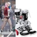 Piękne Buty Harley Quinn Suicide Squad Cosplay r36